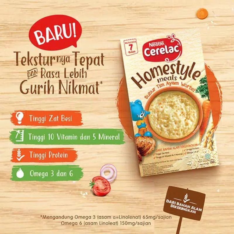 cerelac homestyle tim ayam